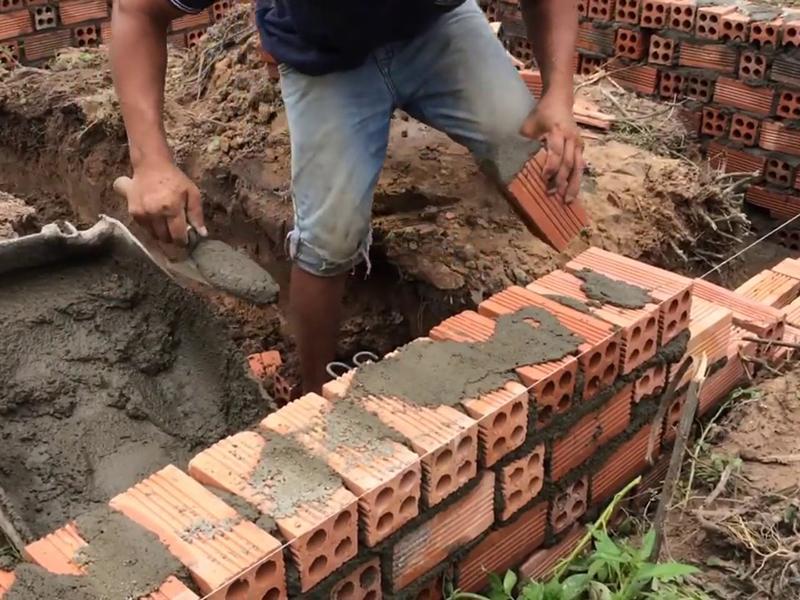 Móng gạch thường được sử dụng trong trường hợp nào ảnh 2