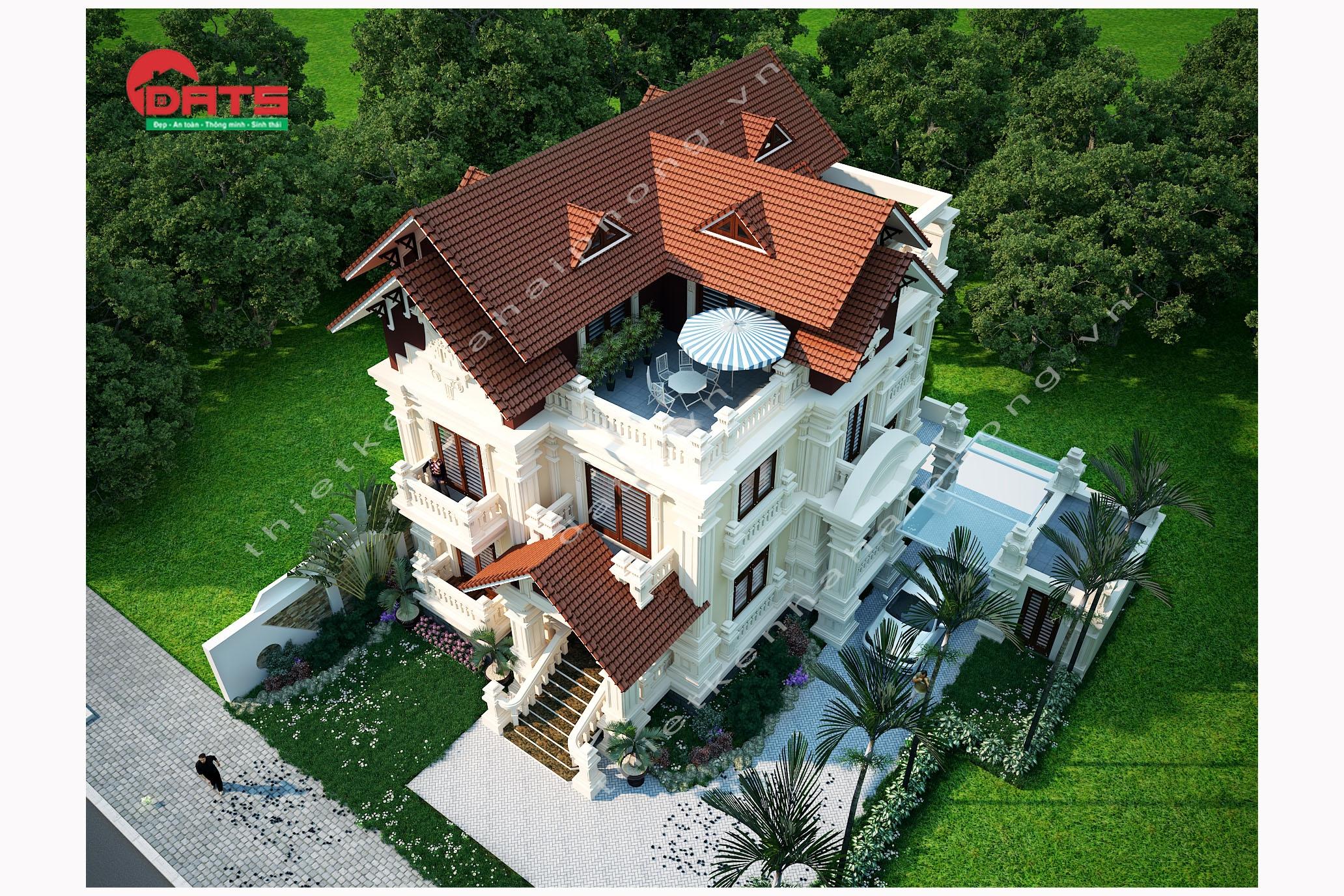 Một mẫu biệt thự đẹp cần đảm bảo những tiêu chuẩn nào? ảnh 2